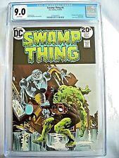 DC Comics SWAMP THING #6 CGC 9.0 VF/NM Bernie Wrightson 1973