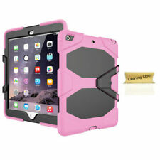 For iPad 9.7 Mini 1 2 3 4 Air 1 2 Pro 9.7 12.9 Shockproof Rugged Kids Case Cover