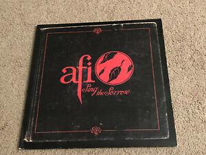 2 LP AFI Sing The Sorrow Original pressing 2003 Adeline Records Red NM Vinyl