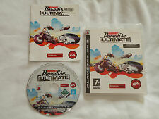 PS3 GAME BURNOUT PARADISE THE ULTIMATE BOX with Booklet (2009) (UK Pal Region 2)