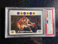 Kobe Bryant 2008 Topps Chrome 24 w/ Lebron James PSA 9 ✨💎🐍👑 Epic Card❗️🔥