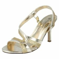 Stiletto Synthetic Dress Textured Heels for Women