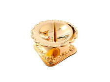 Candle Holder Gloss Gold-Plated Hildesheim Rose Candle Holder, Candles Bracket