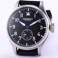 42mm Debert Green Luminous Dial hands sapphire glass Automatic Mens Watch 027