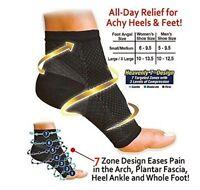 Foot Pain Heel Ankle Socks Sleeve Compression Unisex Plantar Fasciitis CA SELL