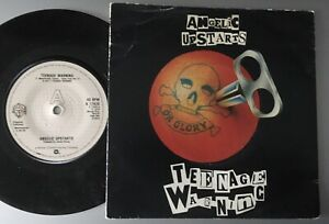ANGELIC UPSTARTS:TEENAGE WARNING/THE YOUNG ONES.1979 WB+PICTURE COVER.UK #29 HIT