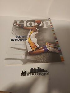 Kobe Bryant Los Angeles Lakers 2004 2005 milwaukee bucks Magazine Hoop NBA
