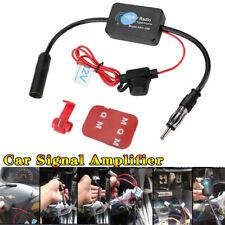 Car Fm Amp Am Radio Antenna Signal Amplifier Aerial Signal Amp Booster 12v Ant 208