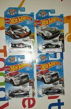 Hot Wheels Zamac Dodge Charger Drift x2, McLaren P1,   Custom Datsun 240Z