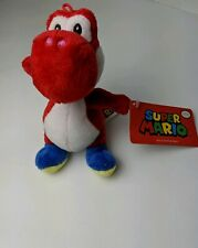 Super Mario Nintendo Yoshi Red Plush 2019 Stuffed Animal Video Game