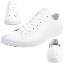 Converse Converse Chuck Taylor All Star Leather Upper Trainers for ... 6c0c82d9d