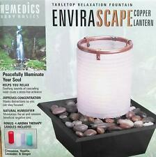 Homedics Envirascape Tabletop Relaxation Fountain Copper Lantern - Free Shipping