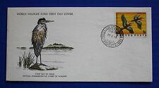 Hungary (2459) 1977 Birds - Purple Heron WWF FDC