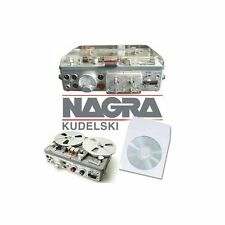 Nagra TAPE RECORDER reel to reel manuels sur CD