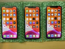 3 Units Of Apple iPhone X - 256Gb - Silver/Grey (Unlocked) A1901 (Gsm)