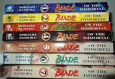 Blade of the Immortal 1-7 Ema Adult hiroaki Samura Egmont Manga-libros 1. tirada