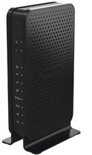 NETGEAR C3700 WiFi Cable Modem Router N600 DUAL Band 300 + 300 Mbps 340 Mbps BLK