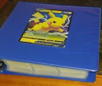 Pokemon Card Binder over 600 Cards Mixed Sets No Duplicates Promos Holo's Rares
