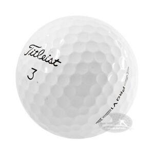 100 Titleist Pro V1X palline da golf usate Cat. 4/5 Stelle (AAA/PEARL)