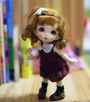 1//8 BJD Doll Cute Little Without Any Make Up Resin Ming