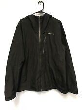 Patagonia Mens Calcite Goretex Hooded Black Jacket Size XL