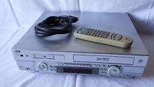 JVC hr-dvs2 MiniDV-VHS CASSETTE RECORDER con FB