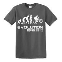 MOUNTAIN BIKE EVOLUTION T-SHIRT/Biker/Funny/Gift Father Day/Cycling/Tshirt/Tee