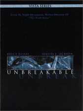 Unbreakable (Two-Disc Vista Series DVD Digi-Pack w/slipcover) Bruce Willis