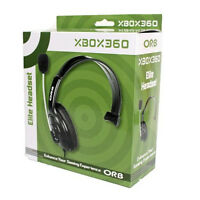 ORB ELITE WIRED GAMING HEADSET FOR MICROSOFT XBOX 360