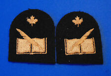 Canadian Armed Forces Navy Financial Clerk trade sleeve badges patches
