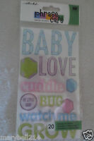 EK Success epoxy Stickers Baby Design Phrase Craft New
