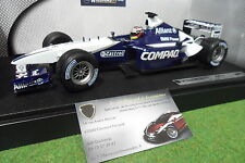 F1 WILLIAMS BMW FW24 MONTOYA #6 au 1/18 HOT WHEELS MATTEL 54625 formule 1