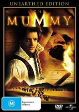 The Mummy Unearthed Edition DVD R4 🇦🇺PAL Brendan Fraser, Brand New Sealed