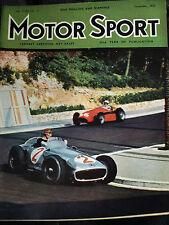 1955 TARGA FLORIO Stirling Moss GOLD CUP MASERATI 250F BMW 501 507 Jenkinson
