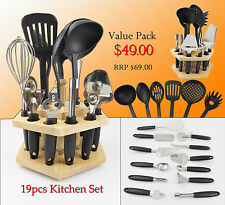 19 Pieces Kitchen Aid / Tools Set - FINAL STOCK CLEARANCE!!