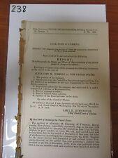 Gov Report 1858 Alexander M Cumming vs. United States mail carrier NJ #238