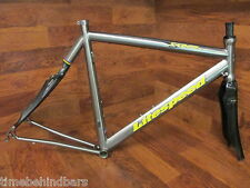 LITESPEED SABER TITANIUM TI STEEL ROAD BIKE FRAME SET REAL DESIGN CARBON FORK 57