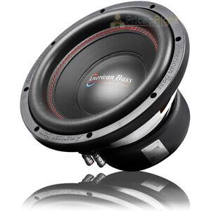 "American Bass 10"" Subwoofer Dual 4 Ohm 900 Watts Max Car Audio Sub XD Series"