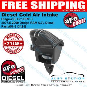 AFE Diesel Intake Stage-2 Si Pro fits 2007.5-2009 Ram 2500/3500 6.7L 51-81342-E