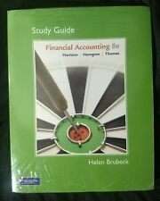 Study Guide for FINANCIAL ACCOUNTING by Harrison 8e 8th Edition~SEALED w/ CD-ROM