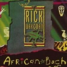 Rick Wakeman African Bach CD NEW 1993