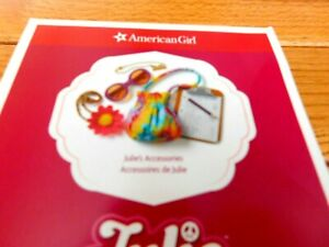 AMERICAN GIRL JULIE ACCESSORIES SET IMPERFECT BOX NEW FREE SHIP LATEST VERSION