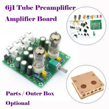 Tube Amplifier Audio Board Pre-Amp Mixer 6J1 2.0 Stereo Valve Bile Buffer DIY