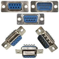 DB9 DIY 9-pin Serial D-Sub Connector Male & Female Solder Type Plug
