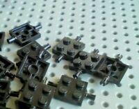 Lego 4624 4600-8x DOUBLE Axle Pin Brick 2x2 Grip Tyres /& Wheels