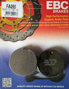 EBC/FA055 Brake Pads (Front) for Suzuki GT125/185/250, GT380/550, GT750 Kettle