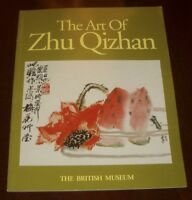 'THE ART OF ZHU QIZHAN' Edited by Anne FARRER : The British Museum : 1995 : pbk.