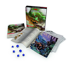 Dungeons & Dragons Starter Set: Fantasy D&D Roleplaying Game 5th Edition (RPG Bo