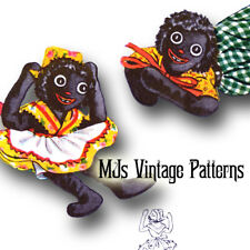 Vintage Pattern ~ Rag Doll Bean Bags