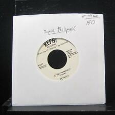 "Reynold Philipsek - Lying To Myself 7"" VG+ Vinyl 45 Private Press"